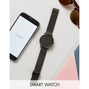 スカーゲン メンズ 腕時計 アクセサリー Skagen Connected SKT1109 Hagen Hybrid Smart Watch Black