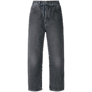 Levi's: Made & Crafted クロップドジーンズ - グレー
