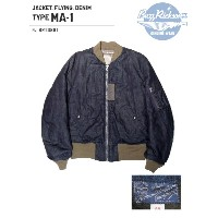 BUZZ RICKSON'S(バズリクソズ)JACKET.FLYING,DENIM/BR13881-421)A/NAVY【2017AW.ver】