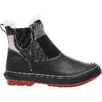 キーン レディース シューズ・靴 ブーツ【Keen Elsa Chelsea Waterproof Boot】Red Dahlia Wool