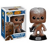 Funko - Figurine Star Wars - Chewbacca Hoth Snow Drift Pop 10cm - 0849803057749