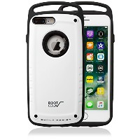 【ROOT CO.】iPhone7Plus iPhone8Plus 耐衝撃 ケース GRAVITY Shock Resist Case Pro. (マットホワイト)米軍MIL規格取得