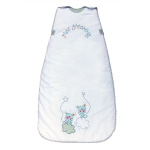 The DreamバッグBaby SleepingバッグJust Dreaming 2.5Tog カラー: ホワイト