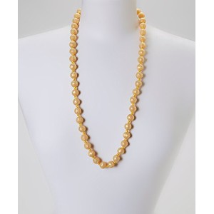GUMEEZ PEARL TEETHING NECKLACE - GOLD PEARL by GUMEEZ