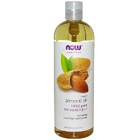 【国内発送】 Now Solutions Sweet Almond Oil 16 oz. (473ml) [並行輸入品]