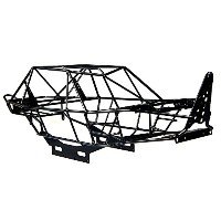 rcクローラー トラック用 1/10 ケージシャーシブ 半完成ボディ 装着済み Steel Cage Chassis For Axial Wraith 90053 RR10