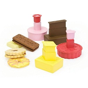 Cookie Cutters - British Biscuits , Custard Creams, Bourbon, Iced Ring etc - クッキーカッター - 英国のビスケット...