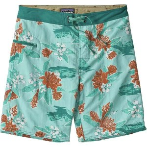 パタゴニア メンズ 水着 水着 Wavefarer 19in Board Short - Men's Cleanest Line/Bend Blue