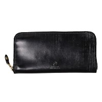 (グレンロイヤル) GLEN ROYAL ZIP AROUND LONG PURSE - NEW BLACK 1.NEW_BLACK ONESIZE