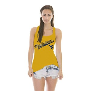 NCAAレディースHolly Jackie Jerseyタンクトップ XL イエロー