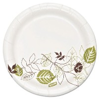 Dixie Ultra Pathways Heavyweight Paper Plates , 5 7 / 8quot ;、ホワイト、500 /カートン