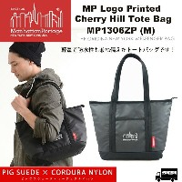 Manhattan Portage マンハッタンポーテージ Logo Printed Cherry Hill Tote Bag(M) MP1306ZP