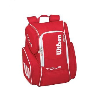 Wilson(ウイルソン) TOUR V BACKPACK LARGE RD ラケットバッグ 2本入れ WRZ843696