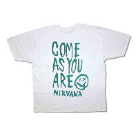 Nirvana バンドTシャツ ニルヴァーナ Come As You Are S