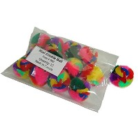 High Quality Mini Crinkle Ball Cat Toy (12 Pack)
