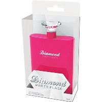 Diamond Party Flask Pink by Hott Products
