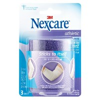Nexcare Athletic Wrap, 3 x 5 yds stretched-Purple-1 roll by Nexcare
