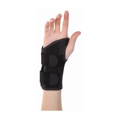 Mueller Green Fitted Wrist Brace - Right, SM/MED, Wrist Circ 5 - 8 (12-20cm) by Rolyn Prest