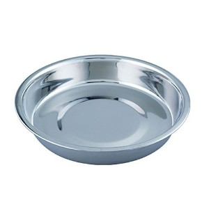 """High Quality Puppy Stainless Steel Pan, 8"""""""