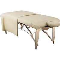 Mt Massage Tables Deluxe Flannel Sheet Set (3pc Set) for Massage Table, Pure White by Mt Massage...