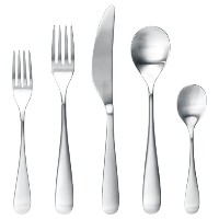 IKEA BEHAGFULL BestステンレススチールFlatwareテーブルウェアセット – 20 Piece Place Setting Silverware – Includesフォークナイフ...