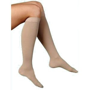 SG842CSSW35 - Sigvaris Inc Soft Opaque, Calf, 20-30 mmHg, Small, Short, Womens Closed Toe, Nude by...