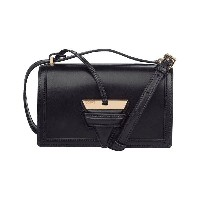 ロエベ レディース バッグ ショルダーバッグ【barcelona small python and leather shoulder bag】Natural/black