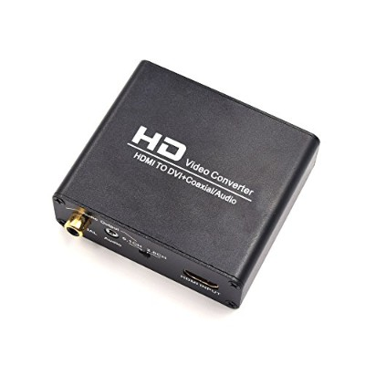 VCANDO HDMI to DVIオーディオHDMI to同軸HDMI to DVI-D変換アダプタ1080p for HDTV HDプロジェクタApple TV Blu-ray Player...