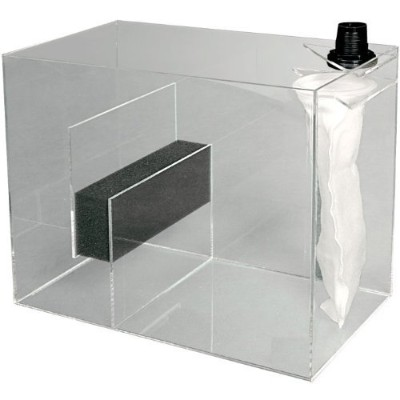 Eshopps RS-75 Reef Sump - Up to 75 gallons - 18 in. x 10 in. x 16 in. by Eshopps