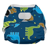 Imagine Baby Products Newborn Stay Dry All-In-One Hook and Loop Cloth Diaper, Rawr by Imagine Baby...