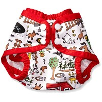 Imagine Baby Products Newborn Snap Diaper Cover, Barnyard Jam by Imagine Baby Products