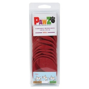 Pawz Dog Boots Pawz Protective Dog Boots To 2.5 Inch Small Red - 12 Count by Pawz Dog Boots [並行輸入品]