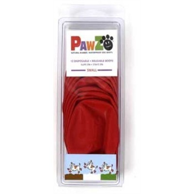 Pawz Red Water-Proof Dog Boot, Small, Up to 2-1/2-Inch by Pawz [並行輸入品]