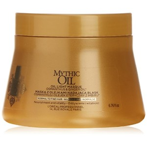 Loreal Mythic Oil Light Mask Normal To Fine Hair 200ml