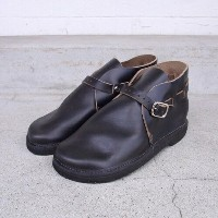 "FERNAND LEATHER 4""Middle EnglishMens E-wide Black"