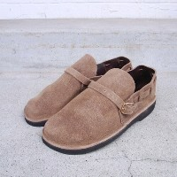 FERNAND LEATHER Middle EnglishMens E-wide BeigeSuede
