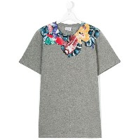 Marcelo Burlon County Of Milan Kids プリント Tシャツ - グレー