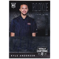 カイル・アンダーソン 2014-15 Panini Totally Certified Rookie Roll Call Autographs 226/249 Kyle Anderson