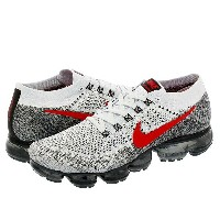 NIKE AIR VAPORMAX FLYKNIT ナイキ ヴェイパー マックス フライニット PURE PLATINUM/UNIVERSITY RED