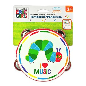 Kids Preferred The World of Eric Carle: The Very Hungry Caterpillar Tamborine by Kids Preferred ...