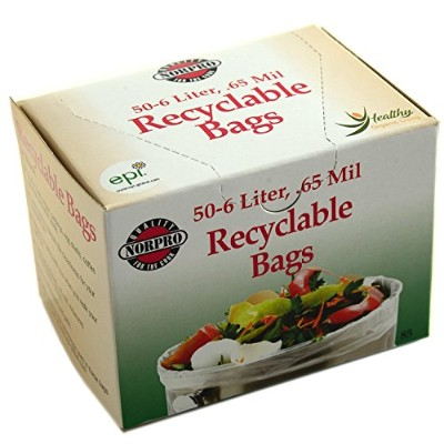 Norpro 85 Recyclable Bags, (2 Boxes of 50 Bags) by Norpro
