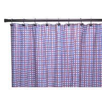 Charlestown Check Tailored Tierカーテン Shower Curtain 730462589323