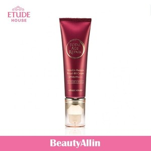 ETUDE HOUSE - トータルエイジリペアリンクルバックロイヤルBBクリーム Total Age Repair Wrinkle Reduce Royal BB Cream 韓国コスメ
