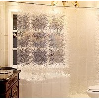 Eforcurtain Eco Friendly Shower Curtain Liner   No Odors  Non Toxic  No Chemicals  100% EVA  Semi...
