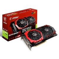 [新品] (国内正規品)MSI GTX 1060 GAMING X 6G [PCIExp 6GB][即納可]