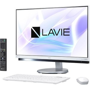 ※新品 NEC LAVIE Desk All-in-one DA770/HAW PC-DA770HAW [ファインホワイト].