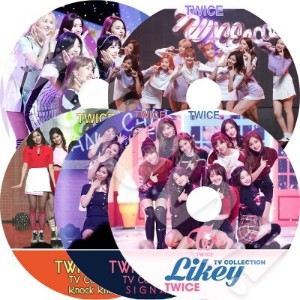 【KPOP DVD】? TWICE 2016-2017 TV Collection 5枚SET ?  LIKEY Signal Knock Knock TT CHEER UP ? 【PV DVD】