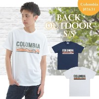 コロンビア メンズTシャツ Columbia BACK OUTDOOR SHORT SLEEVE TEE SHIRTS