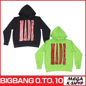 BIGBANG -BIGBANG HOODIE [BIGBANG THE CONCERT 0.TO.10 FINAL IN SEOUL MD][公式グッズ][YG]