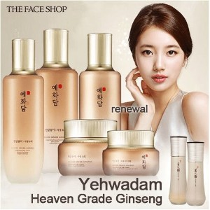[韓国コスメ THE FACE SHOP] イェファダム 天参松茸 自生 水液/乳液 THE FACE SHOP Yehwadam Heaven Grade Ginseng Toner/E mulsi